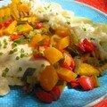 Filet de perche aux légumes citronnés (La cuiller en bois)