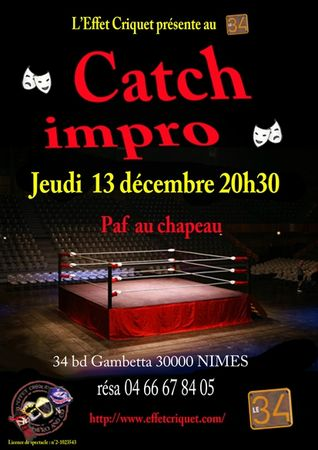 Catch 13 decembre 2012 34 quart