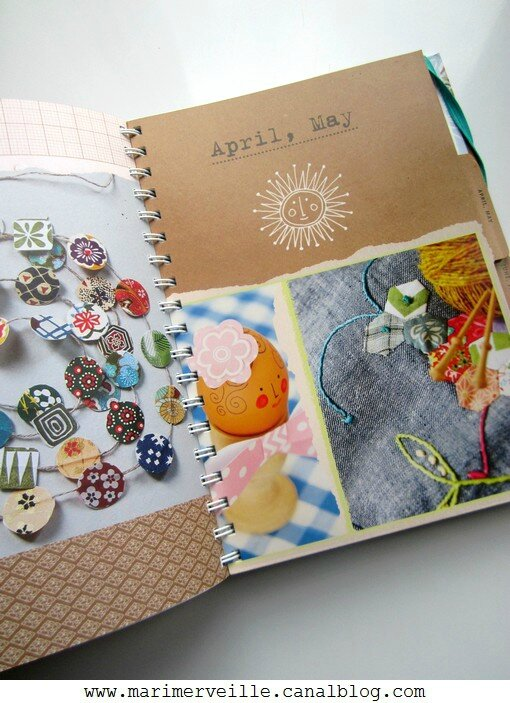 a year in craft April blog marimerveille
