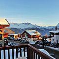 Stations de ski La Rosière et La Thuile - Février 2015