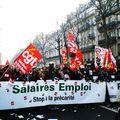 Manifestation massive pour le pouvoir d'achat