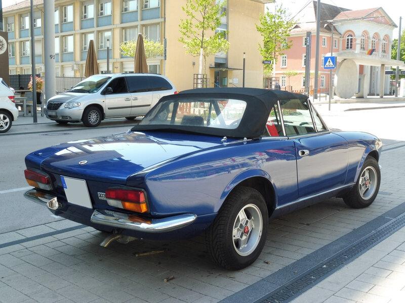 FIAT 124 Sport Spider 2000 Kehl am Rhein (2)
