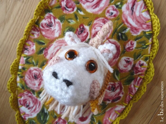 100 Blog Amigurumi Licorne Trophée Crochet 2