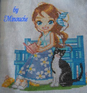 doll Mamacat by Minouche pour HF