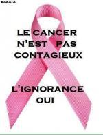 cancer pas contagieux