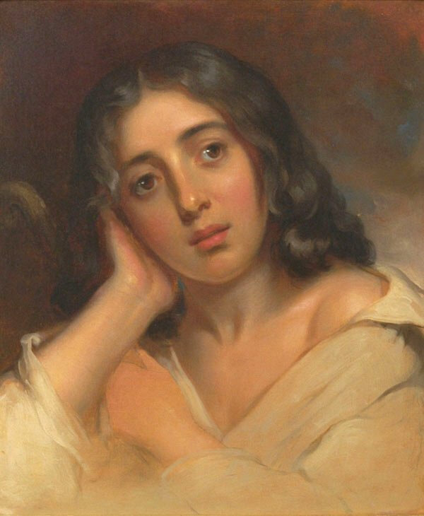 George_Sand_by_Thomas_Sully,_vers 1826