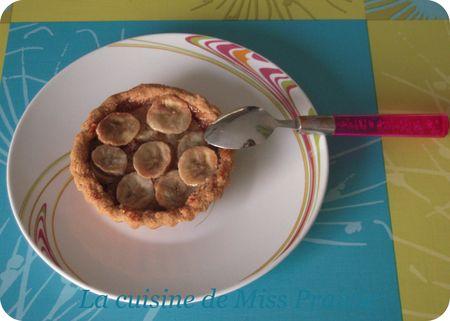 Tartelettes banane & spéculoos