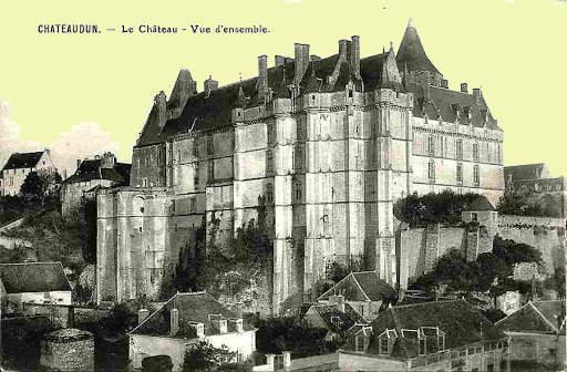 Châteaudun vue du château