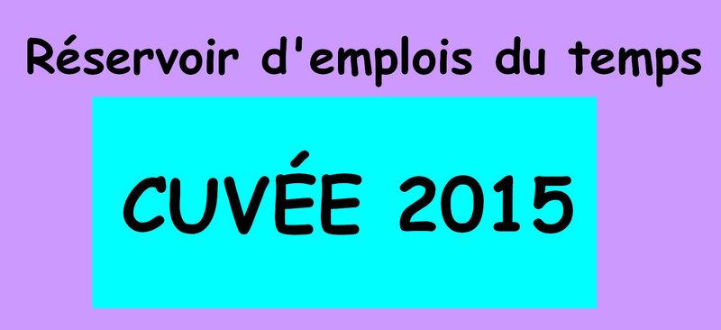 cuvees 2015