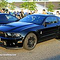 Shelby gt 500 de 2013 (rencard burger king juin 2013)