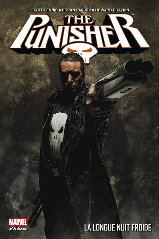 marvel deluxe punisher max 6 la longue nuit froide