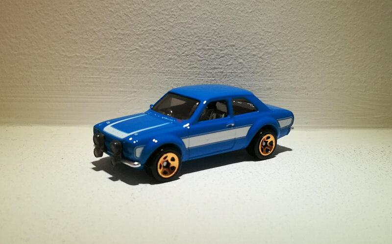 Ford Escort RS 1600 de 1970 (Hotwheels) (2)
