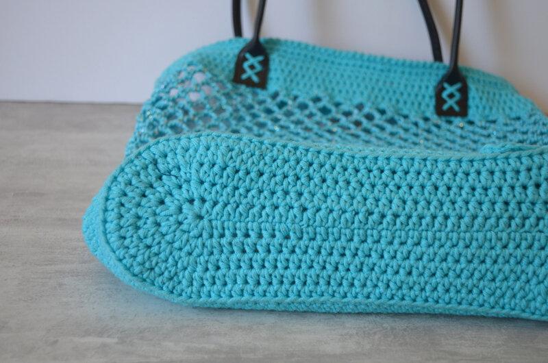 Sac crochet façon filet- la chouette bricole-tuto Crochet (14)
