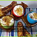 Dessert de pâques : cheesecake destructuré comme un oeuf à la coque