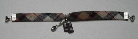 bracelet ecossais gourmand