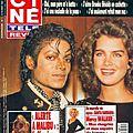 Bouleversant michael jackson - ciné télé revue, 18 février 1993