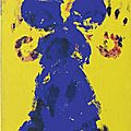 Yves klein (1928 - 1962), untitled anthropometry (ant 114), 1960