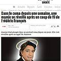 Frédéric François is alive