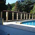 piscine et pergola, détail