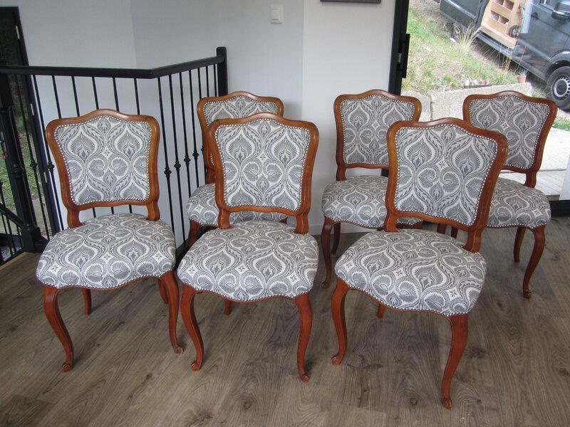 chaises de salle à manger côté sièges