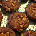 Muffin aux 2 chocolats