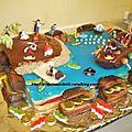 Gâteau pirates !