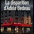 la disparition d adele bedeau