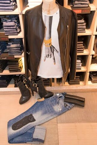 tenue jeans