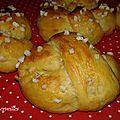 Petits pains au yaourt, miel et huile d'olive