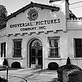 Entrée studios UNIVERSAL PICTURES