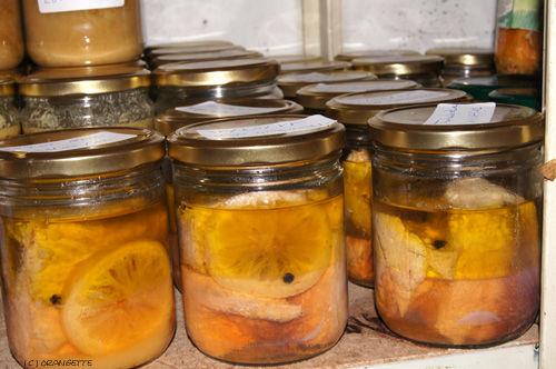 Conserve de thon à l'huile cuite