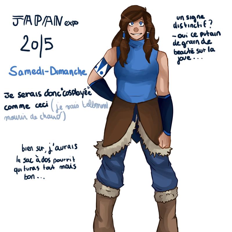 cosplay korra japex