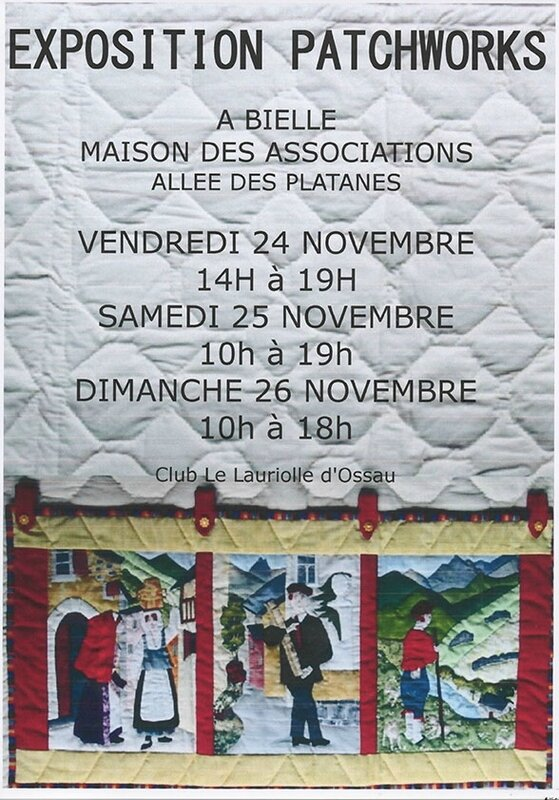 affiche patchwork(LAURIOLLE)