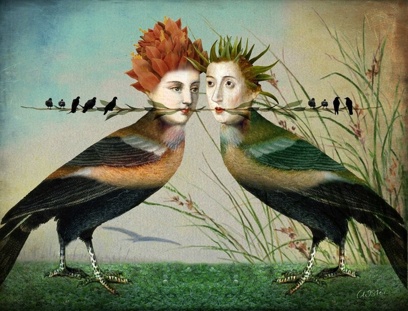 Catrin Welz-Stein - German Surrealist Graphic Designer - Tutt'Art@ (69)