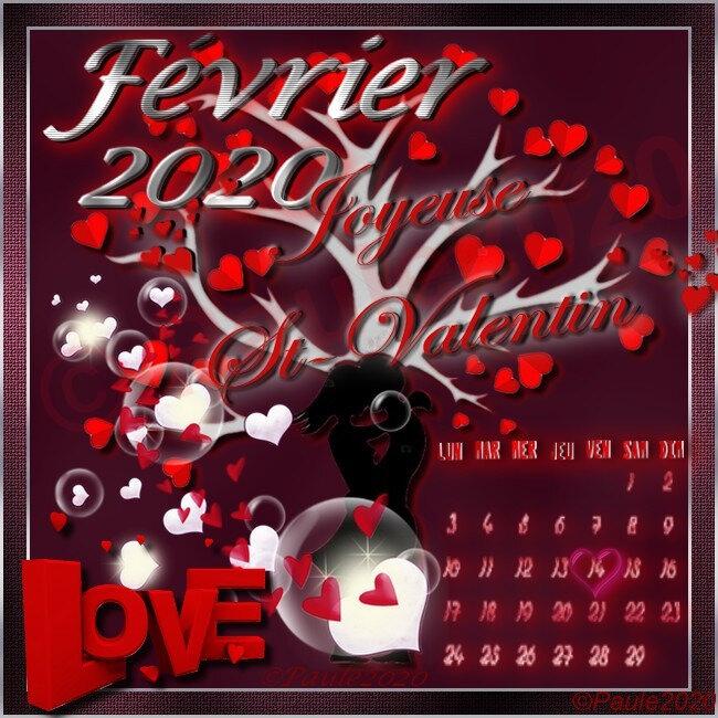Février, St Valentin