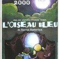 Y 2000 L'OISEAU BLEU Création Evelyne Thomas