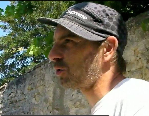 Laurent Dumonteil, artiste graffiteur