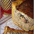 Pâté en croûte farçi au foie gras et canard cru