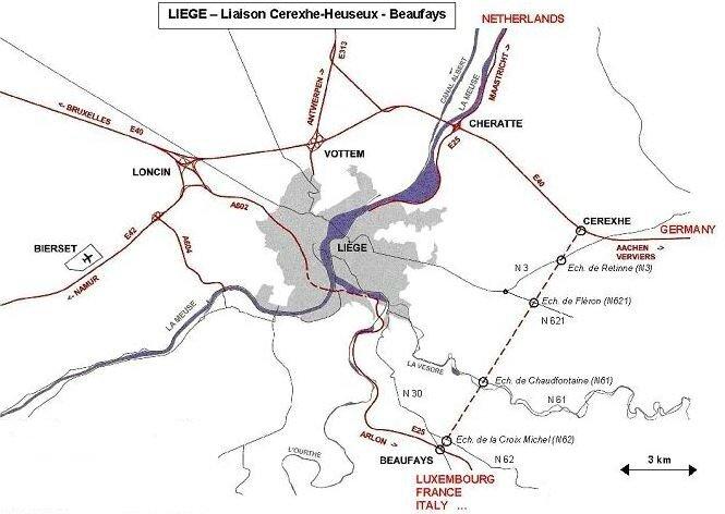 tracé liaison CHB
