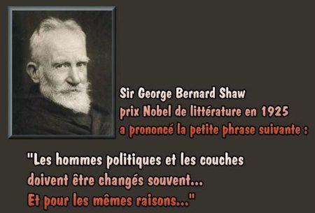 Sir George Bernard Shaw cadre