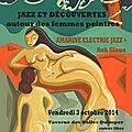 Jazz et Découverte autour des femmes peintres