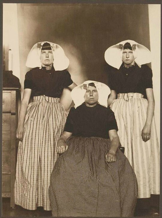 three dutch women