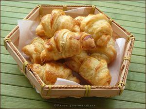 Croissants à la merguez (10)