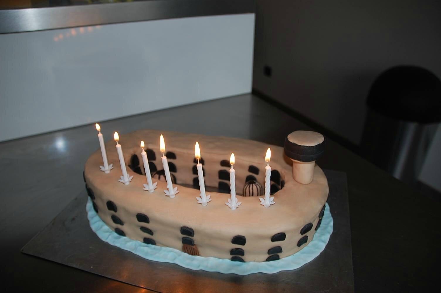 Le gâteau Fort Boyard du grand Frère