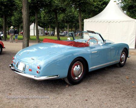 Alfa romeo 6C 2500 SS cabriolet de 1949 (9ème Classic Gala de Schwetzingen 2011) 02