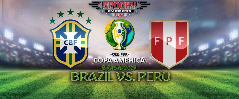 copa america peru brazil affiche