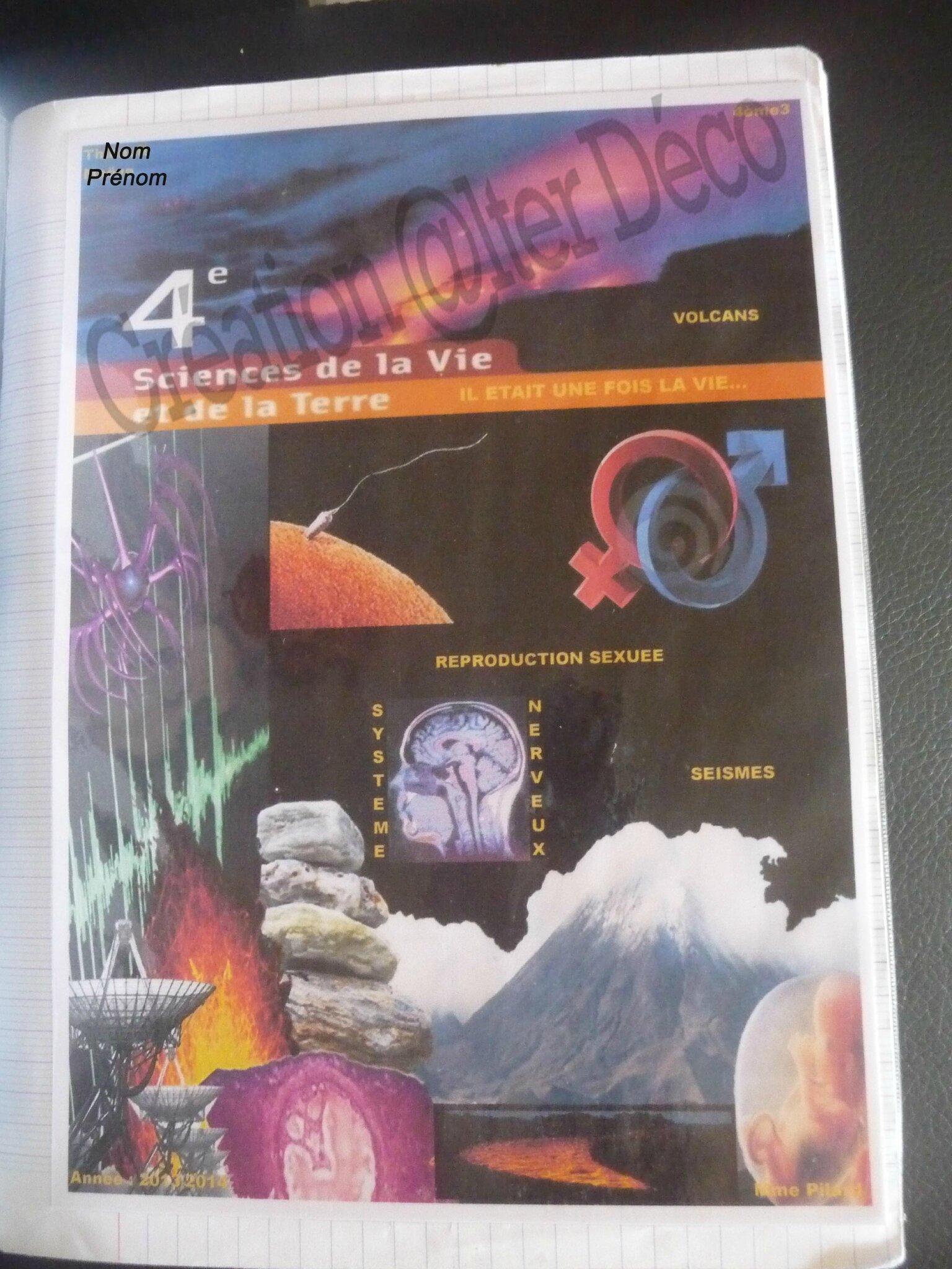 Page de garde SVT