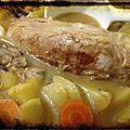 {recette} filet mignon carotte - pommes de terre avec cocotte en fonte