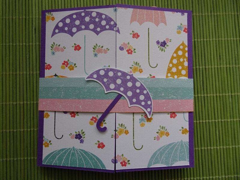 28b Carte Parapluie en Pop'up!