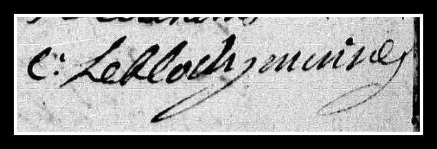 Signature Le Floch
